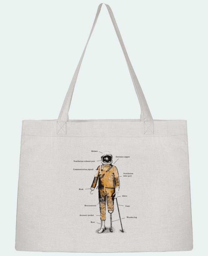 Sac Cabas Shopping Stanley Stella Astropirate with text par Florent Bodart