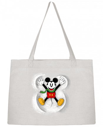 Sac Cabas Shopping Stanley Stella Mickey in snow par Florent Bodart