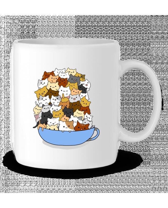 Mug en Céramique Tazón de Gatitos par MaaxLoL