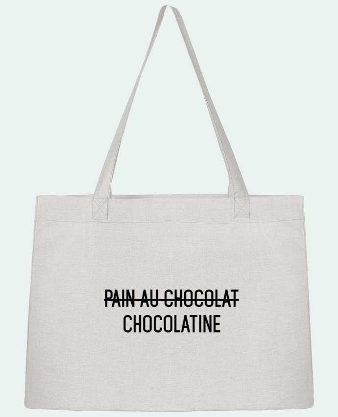Sac Cabas Shopping Stanley Stella Chocolatine par tunetoo