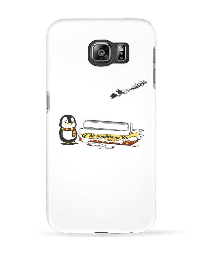 Coque 3D Samsung Galaxy S6 Christmas Gift - flyingmouse365