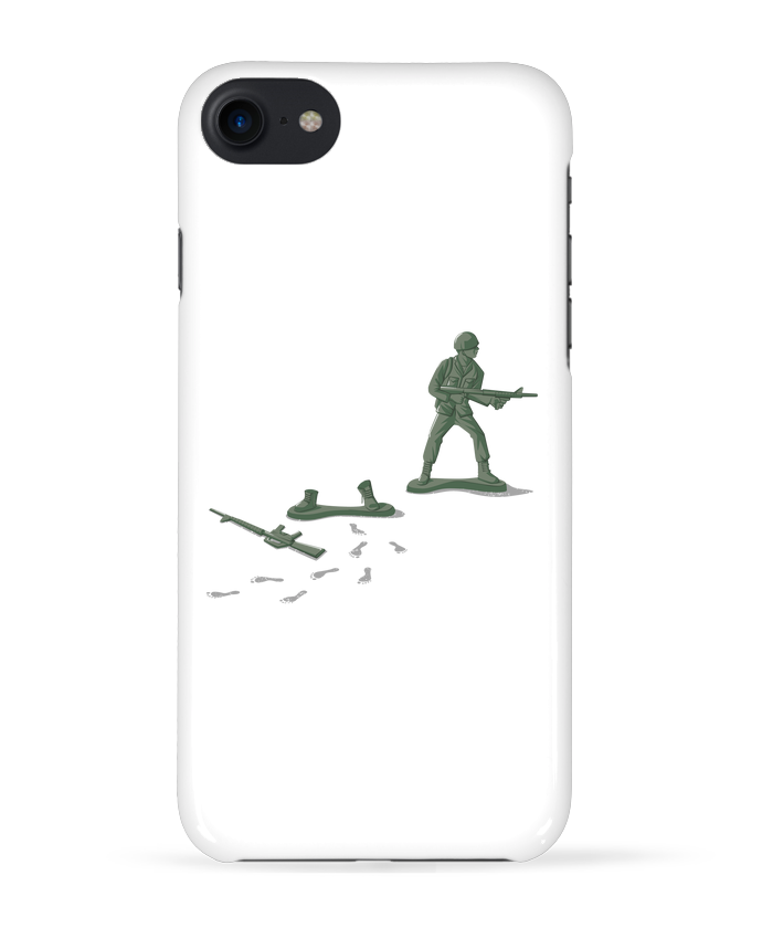 Coque 3D Iphone 7 Deserter de flyingmouse365