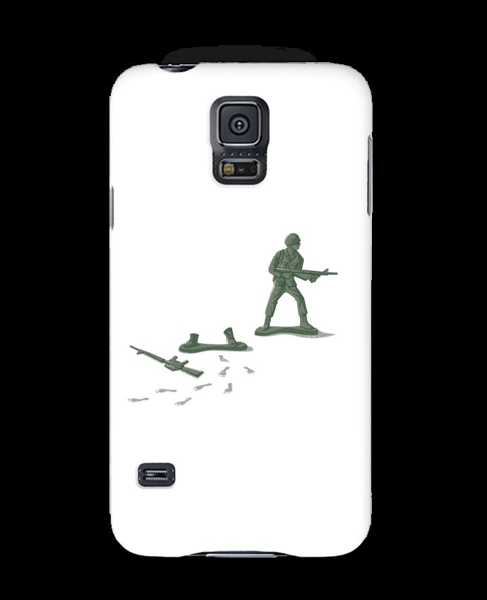 Coque 3D Samsung Galaxy S5 Deserter par flyingmouse365