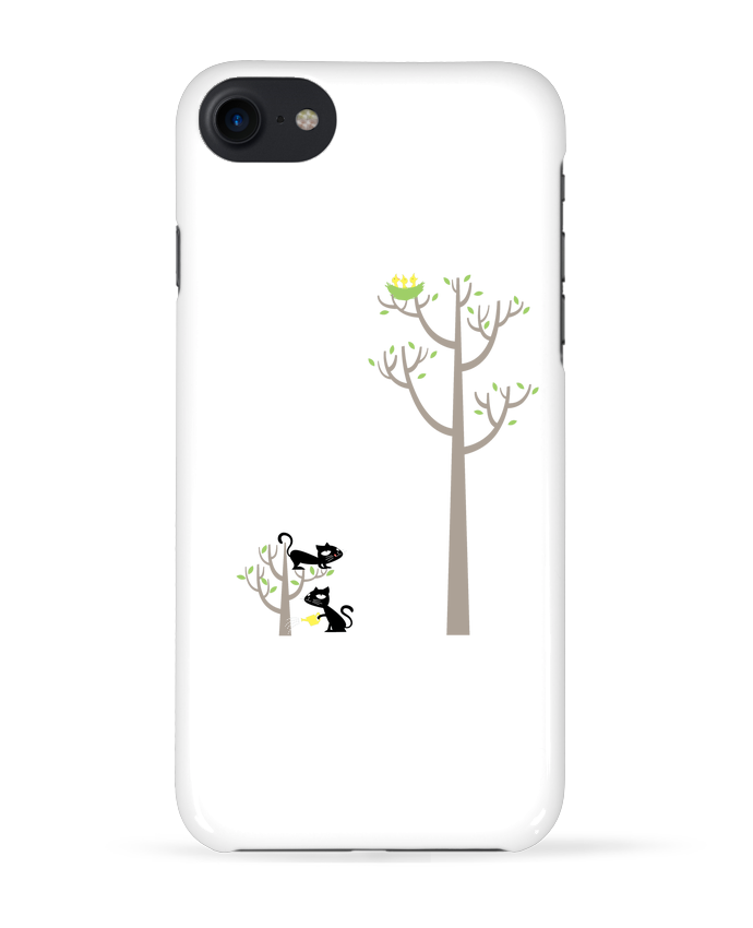 Coque 3D Iphone 7 Growing a plant for Lunch de flyingmouse365