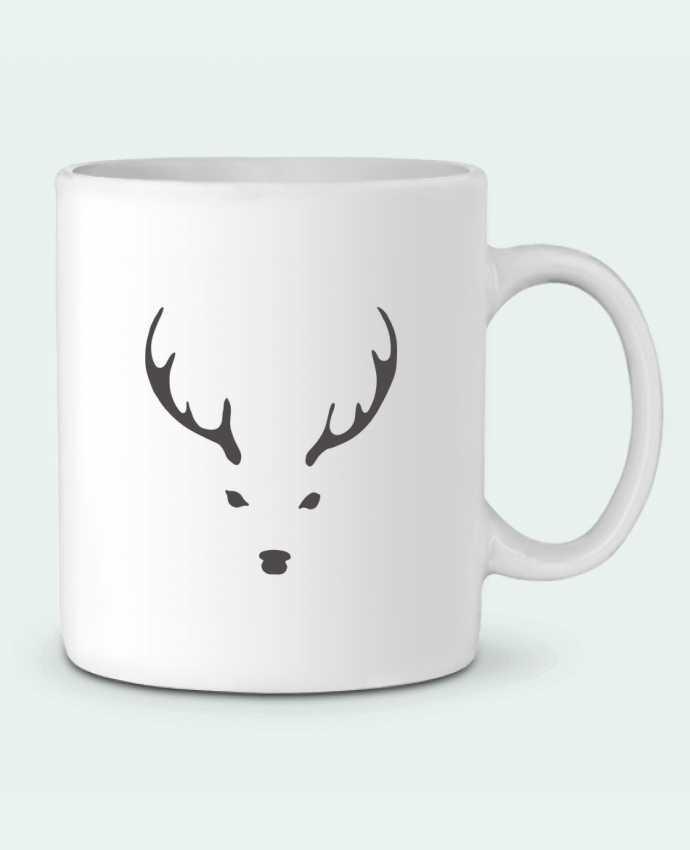 Mug en Céramique WHITE DEER par Morozinka
