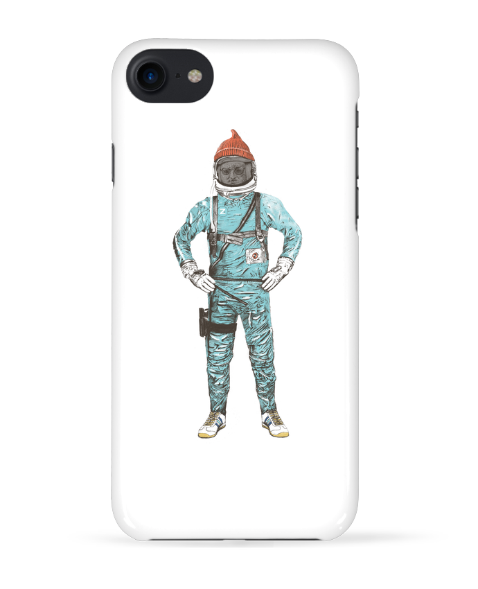 Coque 3D Iphone 7 Zissou in space de Florent Bodart