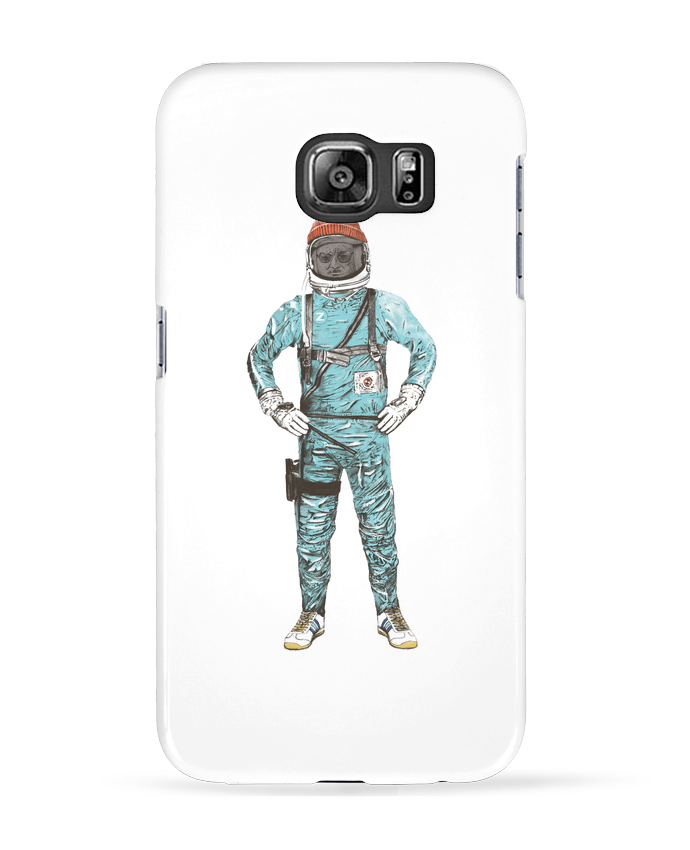 Coque 3D Samsung Galaxy S6 Zissou in space - Florent Bodart