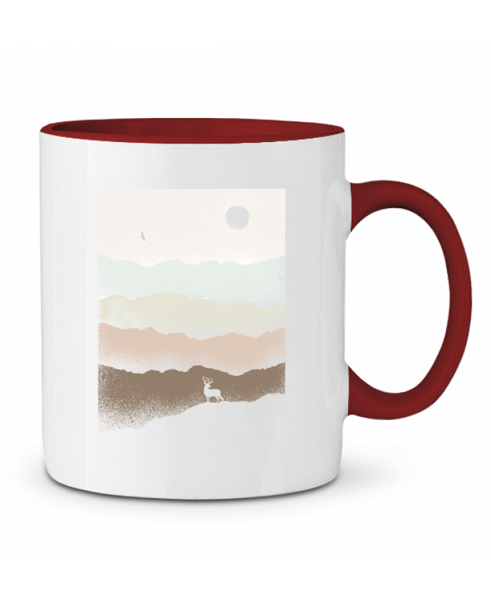 Mug en Céramique Bicolore Quietude Florent Bodart