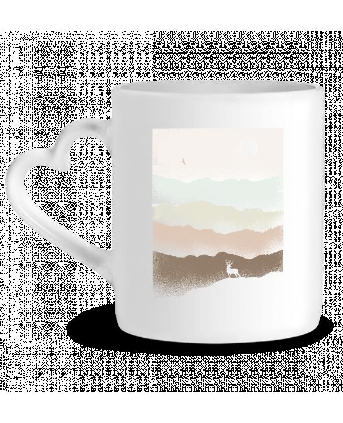 Mug Coeur Quietude par Florent Bodart