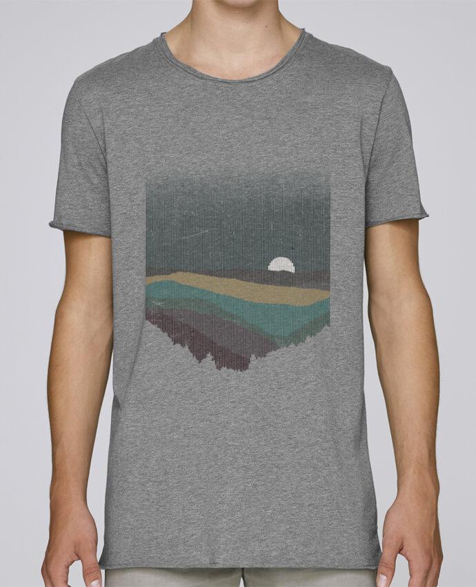 T-shirt Homme Oversized Stanley Skates Moonrise Color par Florent Bodart