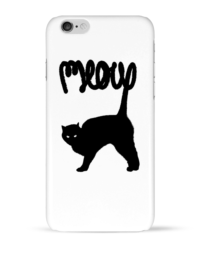 Coque 3D Iphone 6 Meow par Florent Bodart