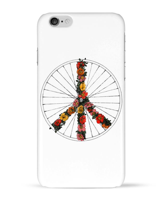 Coque 3D Iphone 6 Peace and Bike par Florent Bodart