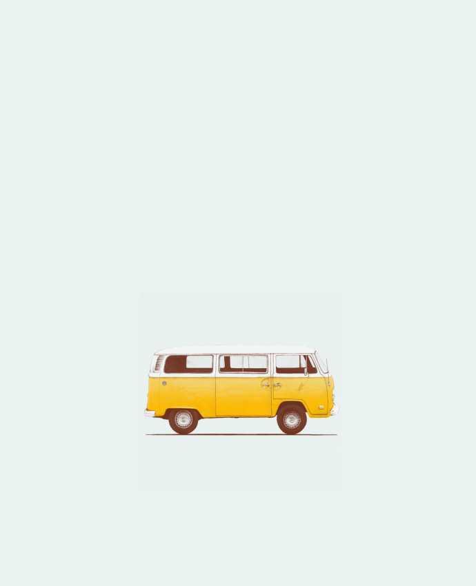 Sac en Toile Coton Yellow Van par Florent Bodart