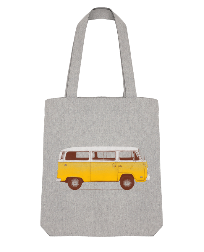 Tote Bag Stanley Stella Yellow Van par Florent Bodart
