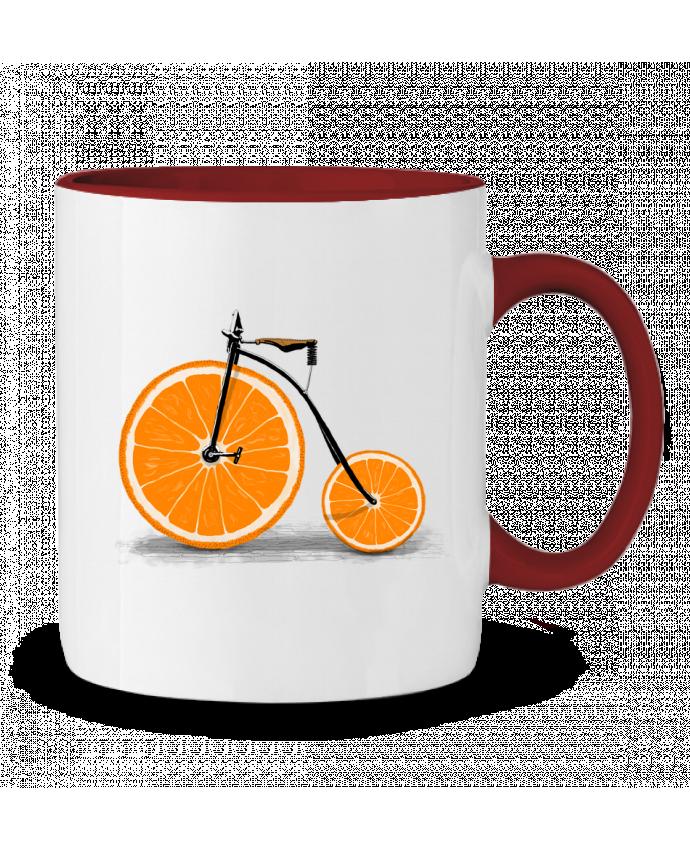 Mug en Céramique Bicolore Vitamin Florent Bodart