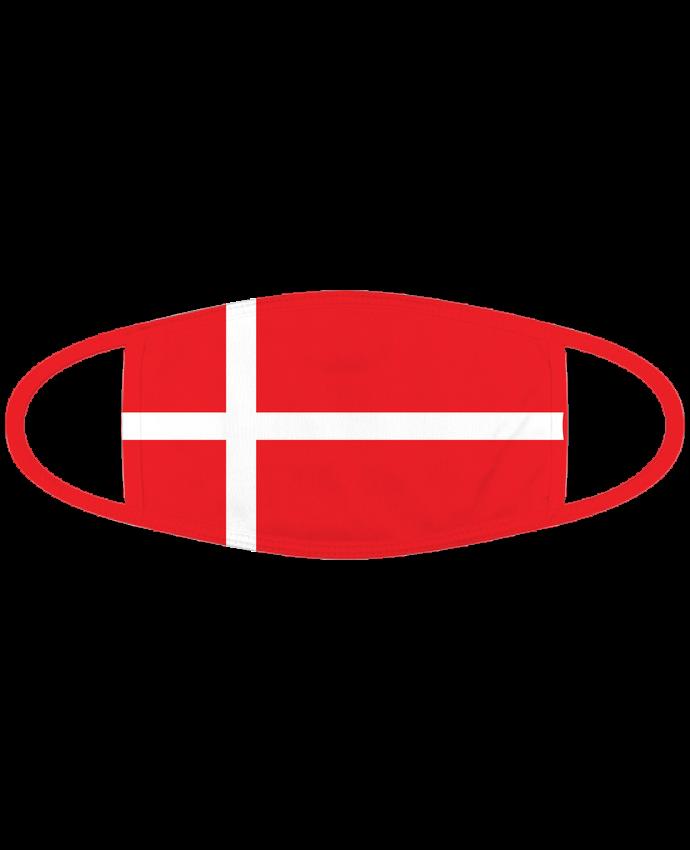 Masque Drapeau Danemark par tunetoo