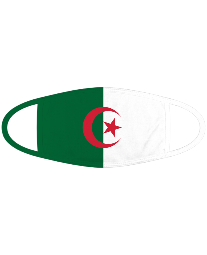 Masque Drapeau Algérie par tunetoo