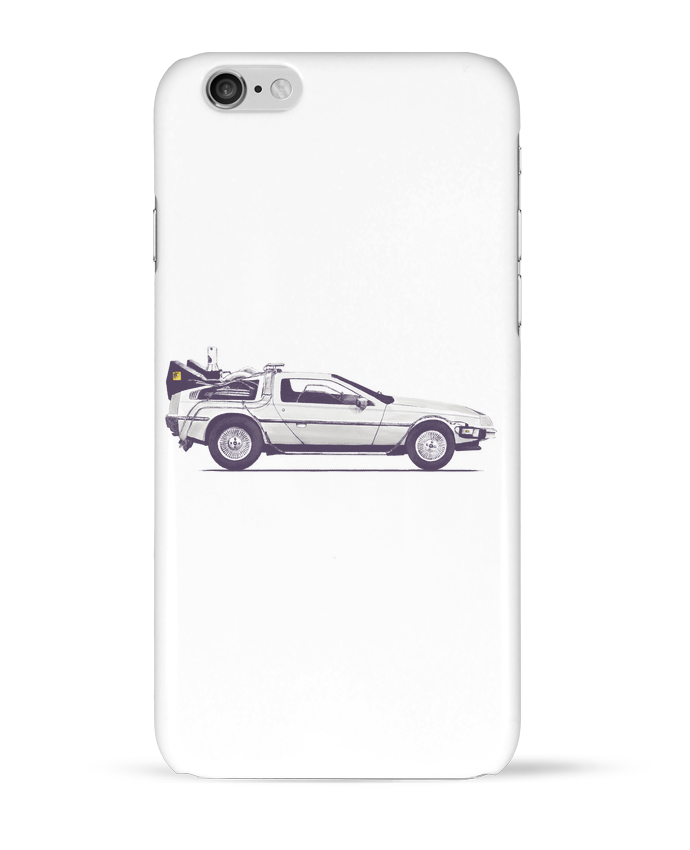 Coque 3D Iphone 6 Dolorean par Florent Bodart