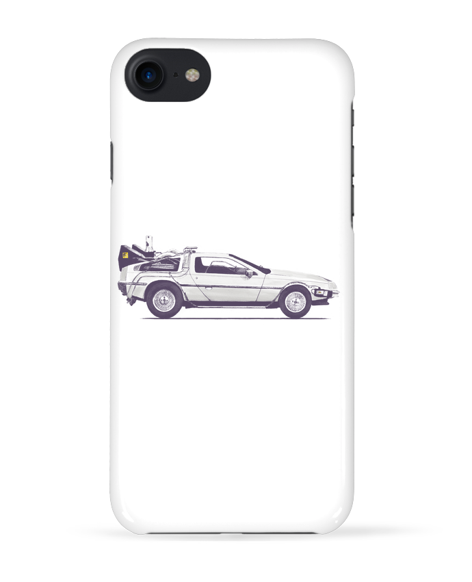 Coque 3D Iphone 7 Dolorean de Florent Bodart