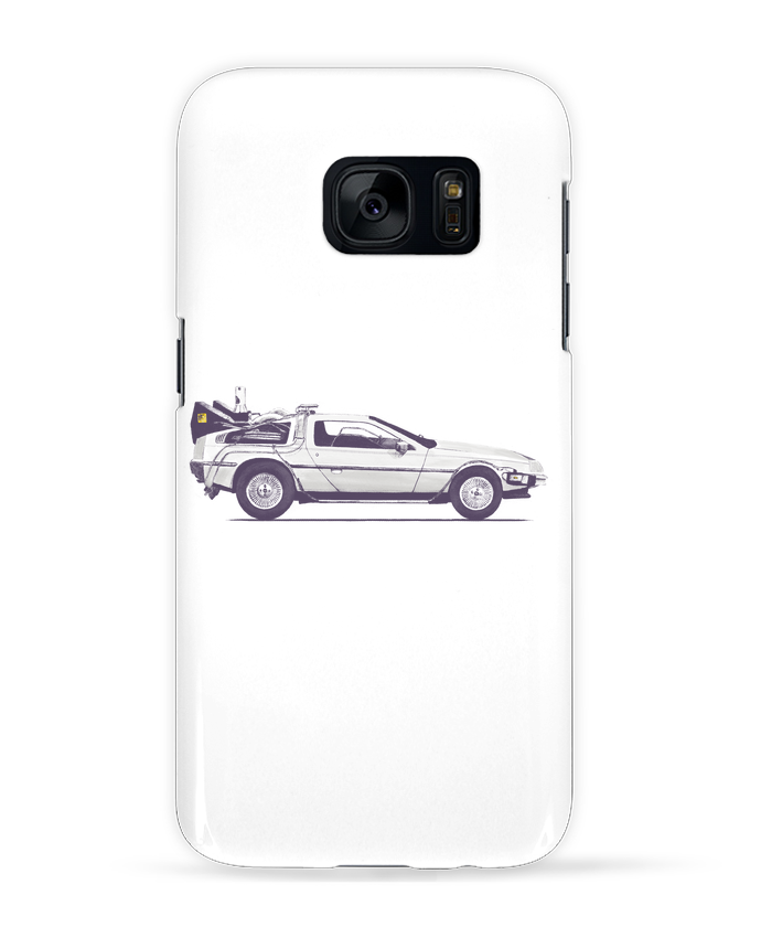 Coque 3D Samsung Galaxy S7 Dolorean par Florent Bodart