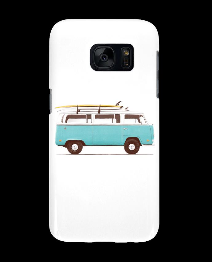 Coque 3D Samsung Galaxy S7 Blue van par Florent Bodart
