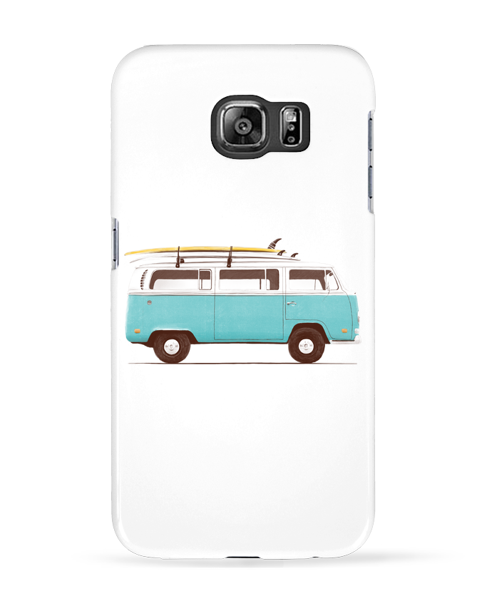 Coque 3D Samsung Galaxy S6 Blue van - Florent Bodart