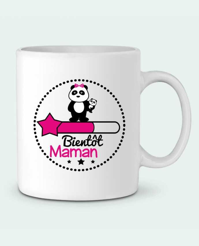 Mug en Céramique Bientôt maman - Future mère , grossesse par Benichan