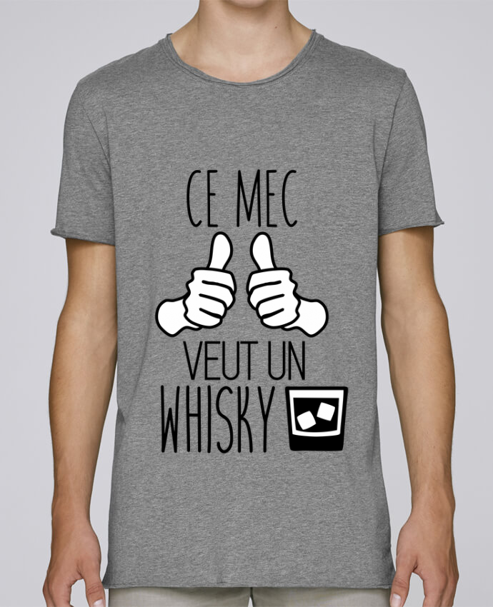 T-shirt Homme Oversized Stanley Skates Ce mec veut un whisky par Benichan
