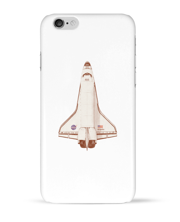 Coque 3D Iphone 6 Atlantis S6 par Florent Bodart