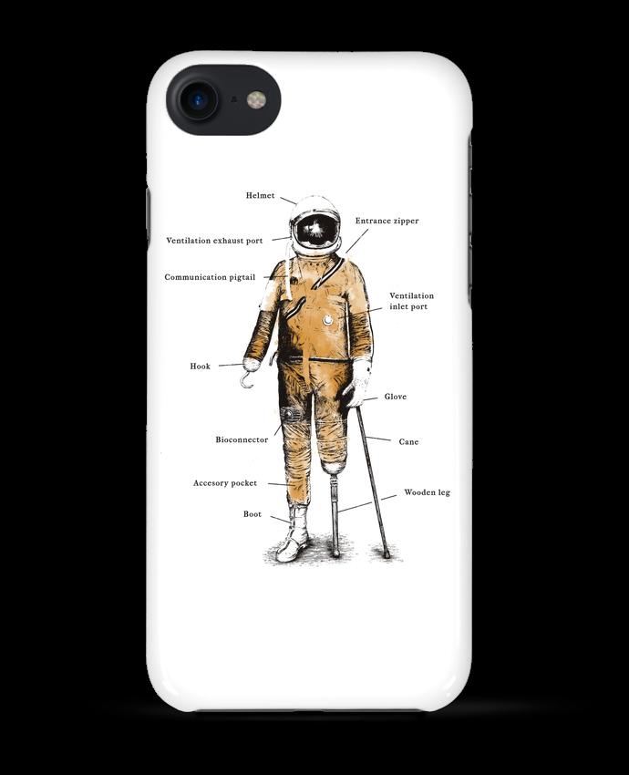 Coque 3D Iphone 7 Astropirate with text de Florent Bodart