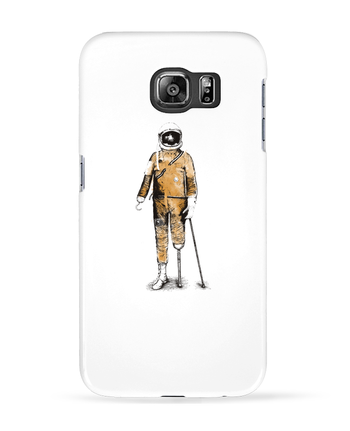 Coque 3D Samsung Galaxy S6 Astropirate - Florent Bodart