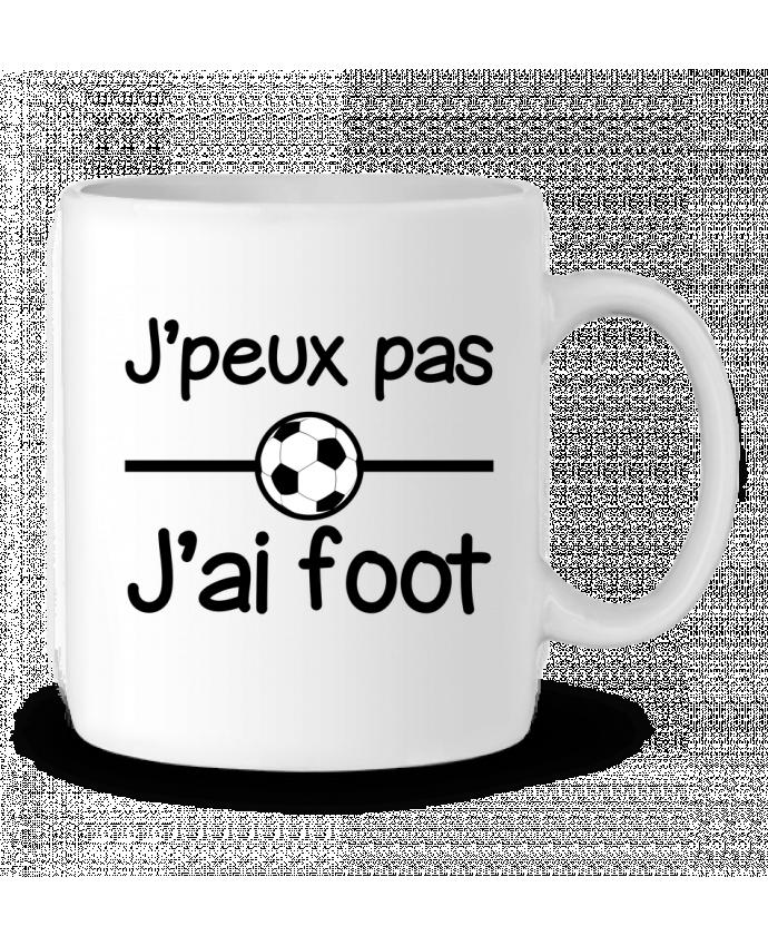 Mug en Céramique J'peux pas j'ai foot , football par Benichan
