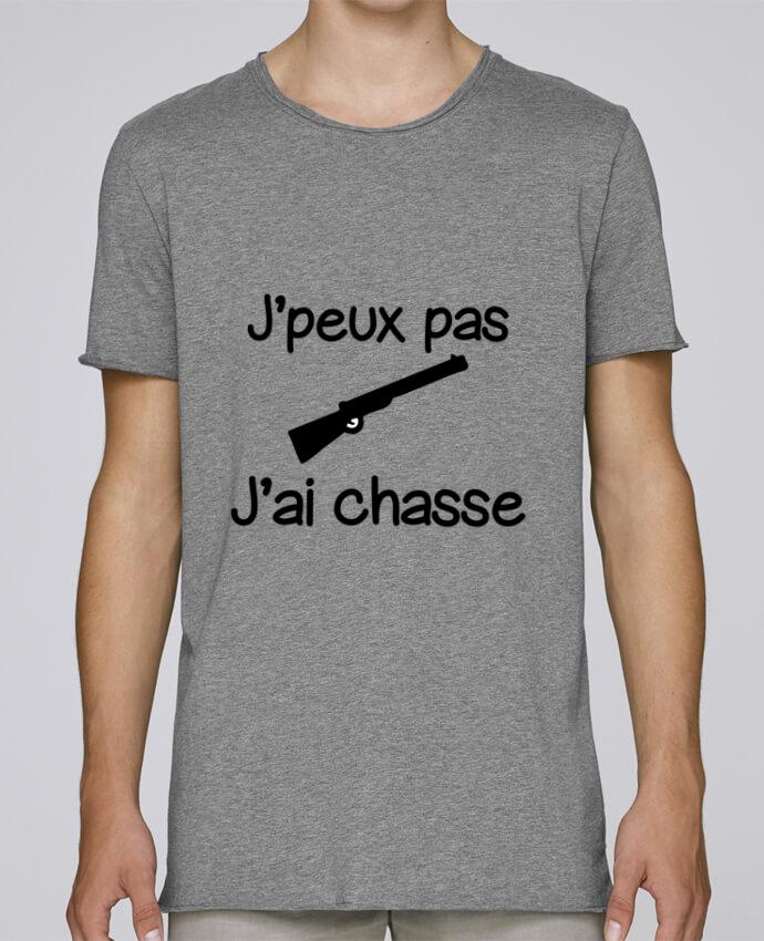 T-shirt Homme Oversized Stanley Skates J'peux pas j'ai chasse - Chasseur par Benichan