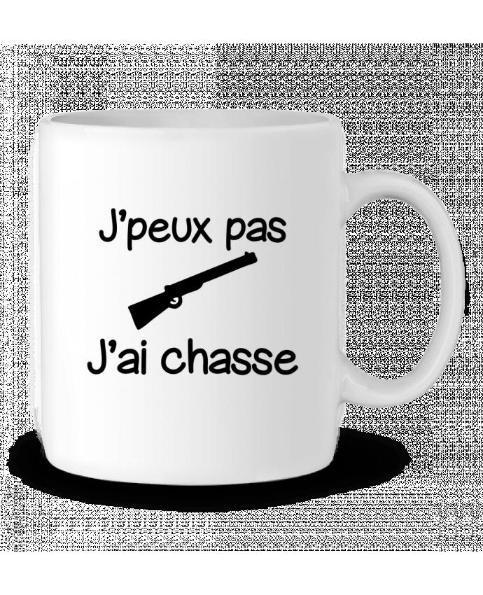 Mug en Céramique J'peux pas j'ai chasse - Chasseur par Benichan