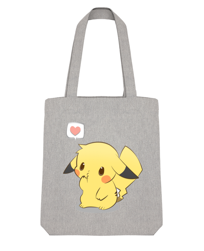 Tote Bag Stanley Stella Pikachu Love par Ketsøu