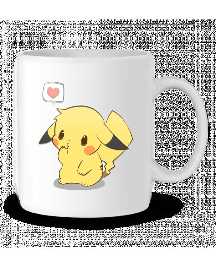 Mug en Céramique Pikachu Love par Ketsøu