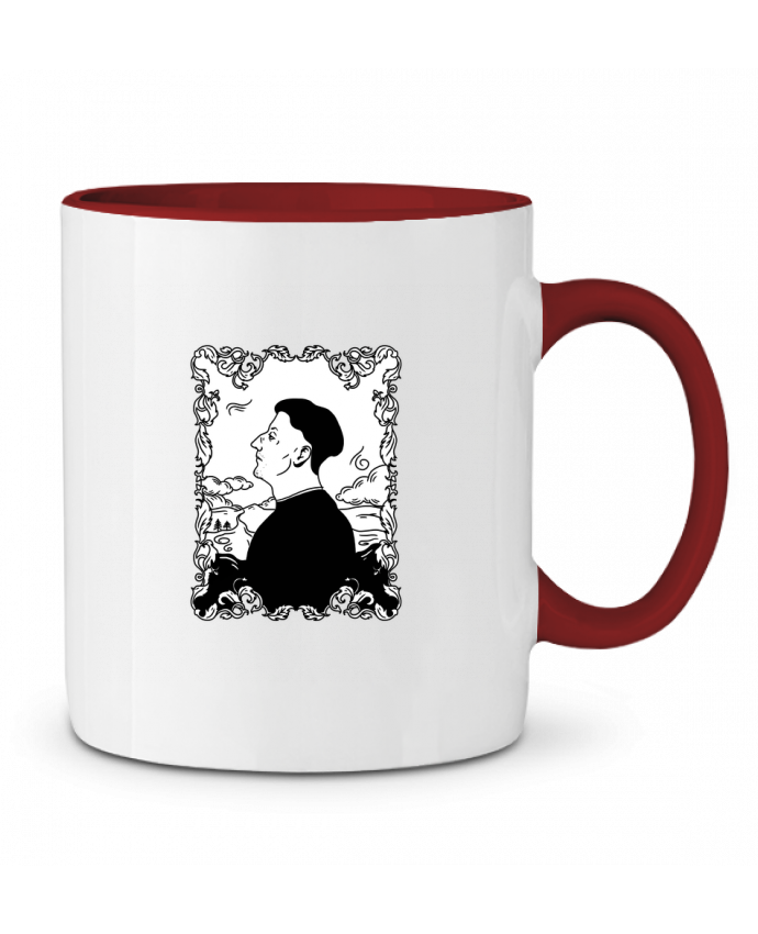 Mug en Céramique Bicolore Godefroy de montmirail tattooanshort