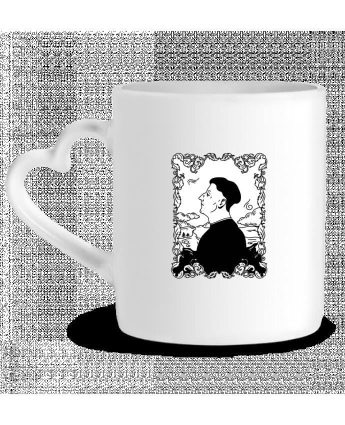 Mug Coeur Godefroy de montmirail par tattooanshort