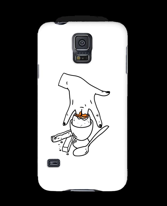 Coque 3D Samsung Galaxy S5 Super mouillette ou qui viole un oeuf viole un boeuf par tattooanshort
