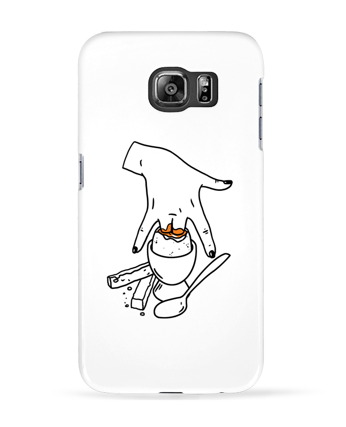Coque 3D Samsung Galaxy S6 Super mouillette ou qui viole un oeuf viole un boeuf - tattooanshort