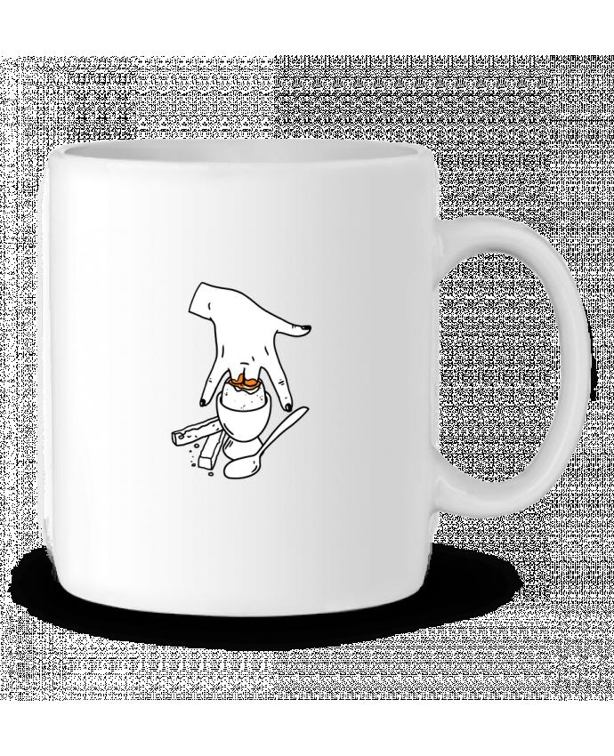 Mug en Céramique Super mouillette ou qui viole un oeuf viole un boeuf par tattooanshort