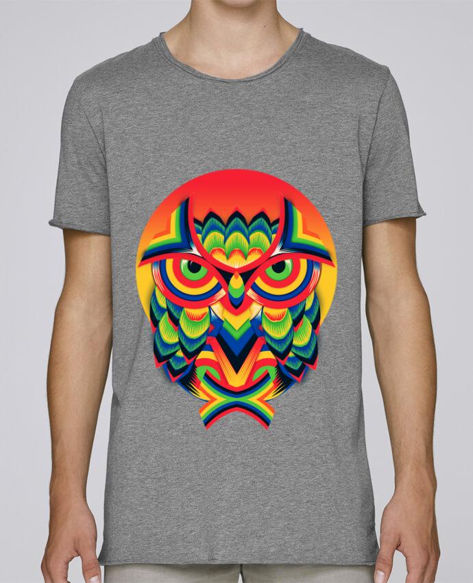 T-shirt Homme Oversized Stanley Skates Owl 3 par ali_gulec