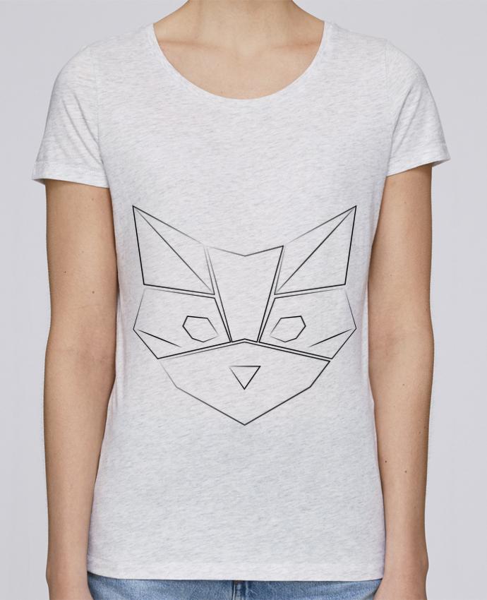 T-shirt Femme Stella Loves Logo chat par Claire