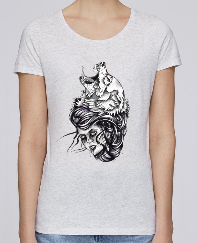 T-shirt Femme Stella Loves Femme & Loup par david