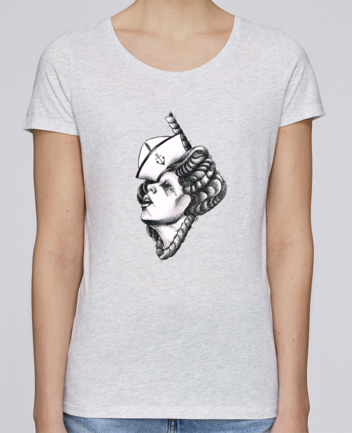 T-shirt Femme Stella Loves Femme capitaine par david