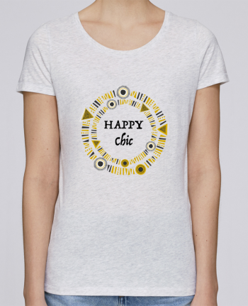 T-shirt Femme Stella Loves Happy Chic par LF Design