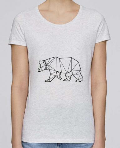 T-shirt Femme Stella Loves Bear Animal Prism par Yorkmout