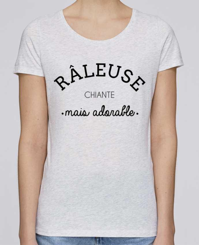 T-shirt Femme Stella Loves Râleuse chiante mais adorable par LPMDL