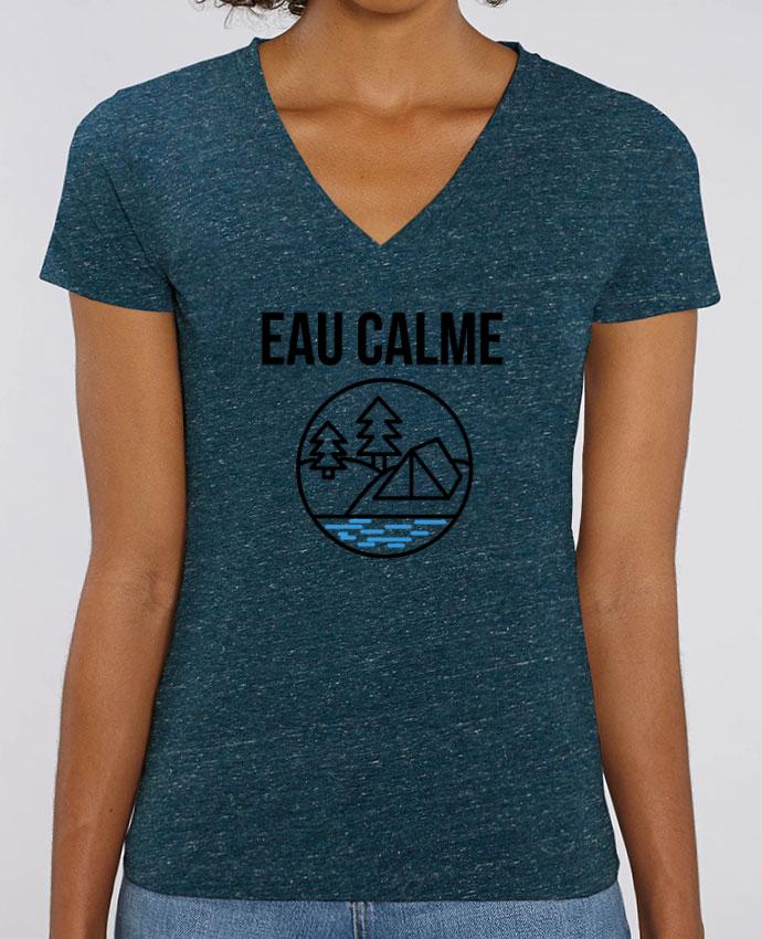 Tee-shirt femme eau calme Par  Ruuud