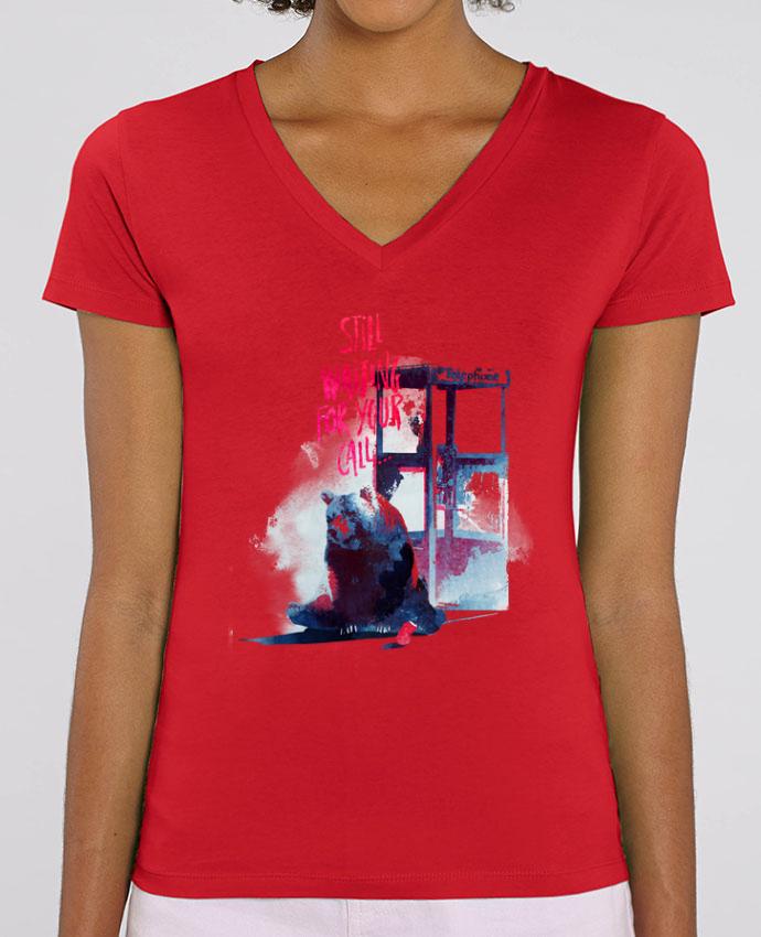 Tee-shirt femme Still waiting for your call Par  robertfarkas